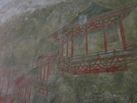 Yidetaizi Tomb: 墓道壁画