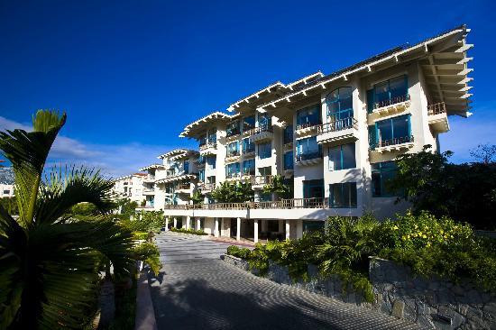 Tian Hong Resort: 酒店二区客房更好一些,都是双向景观