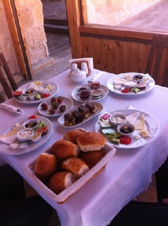 Goreme Suites: 早餐