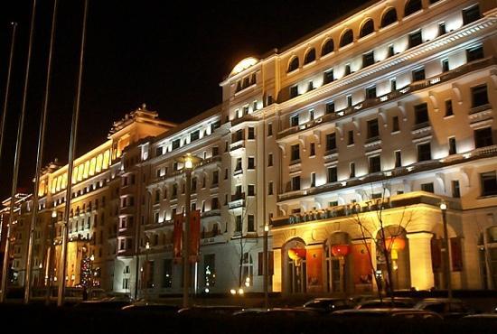 Beijing Hotel: 北京饭店夜景