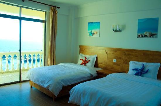 Hailangyu Seaview Hotel: 豪华海景双标房