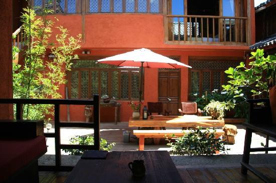 Wuer Inn: 后院