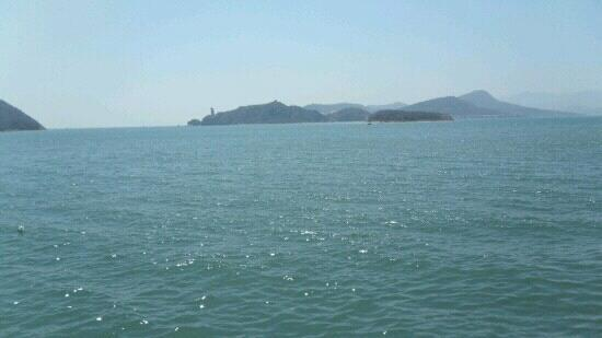 Lushun Bird Port and Snake Island Reservation: 远处的岛屿