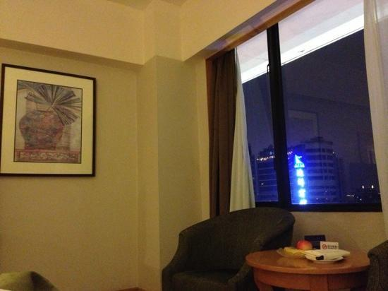 Crystal Orange Hotel Guangzhou Taojin: 十八楼房间