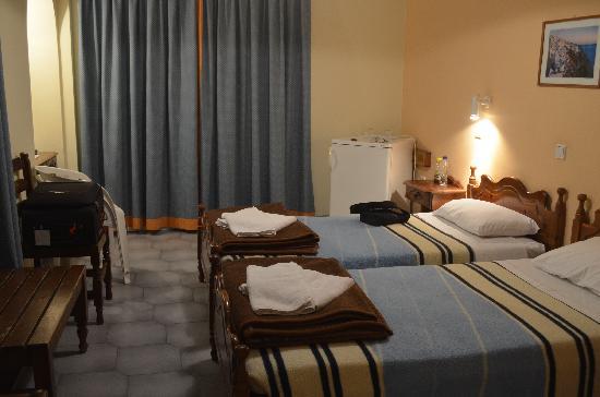 Albatros Hotel: ALBATROS 房间卧室。