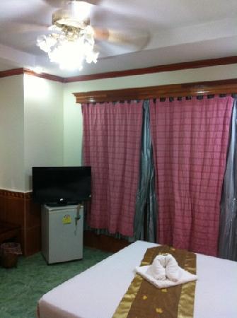 Aroon Residence Vientiane: 风格很不错的酒店