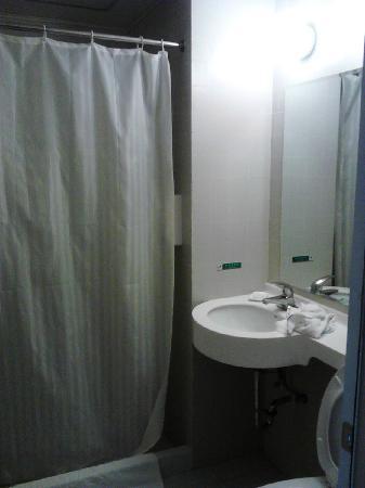 Jinjiang Inn Yichang Walking Street : 浴室