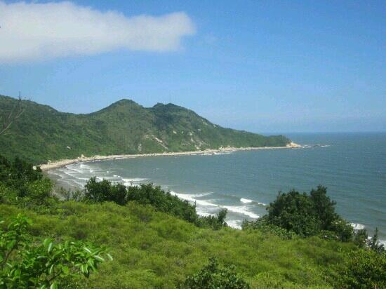 Hebao Island of Zhuhai: 岛上海湾