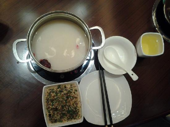Xinjin County, Κίνα: 百合养颜锅