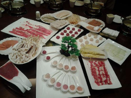 Xinjin County, Κίνα: 荤菜组合