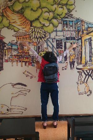 Lingnan Impression Park: 抱一个