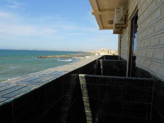 جراند هوتل أغادير: in balcony