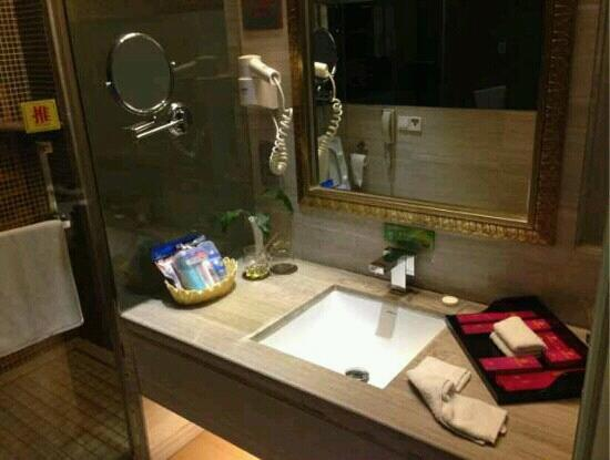 Garden International Hotel: 酒店洗漱间