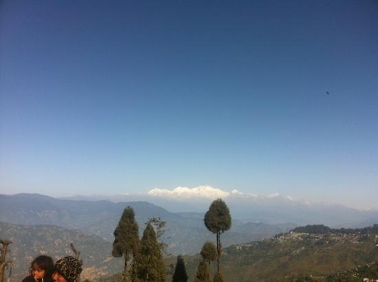 Kanchenjunga Mountain: 远眺干城章嘉峰