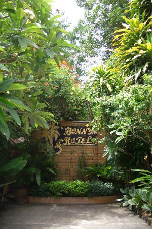 Bonny Hotel : 院落