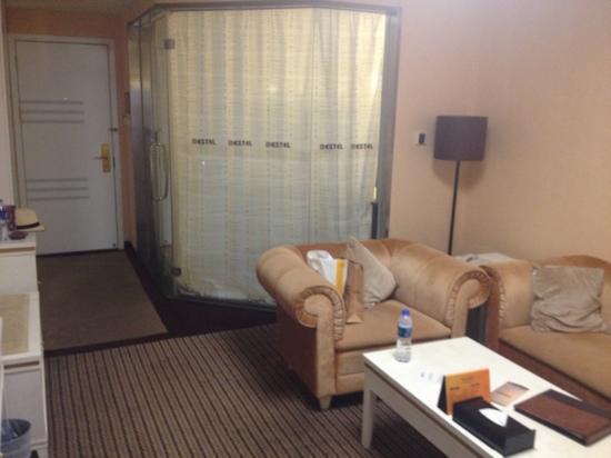 Bestel Hotel: 家庭房客厅