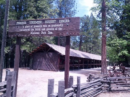 Pioneer Yosemite History Center: historical center