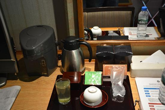 Nara Hotel: 有热水和冰水提供