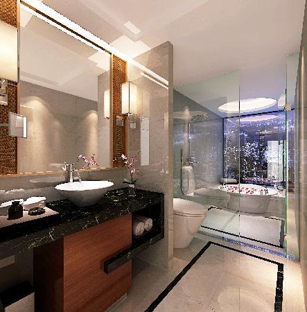 Nanyuan Hotel: 豪华房洗手间