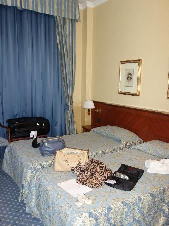 Windsor Hotel Milano: 房间不大,但还比较干净舒适