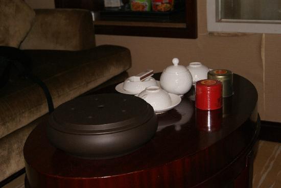 Days Hotel Jindu Fuzhou: 茶桌
