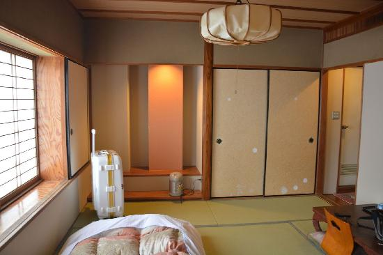 Hotel Kuramoto : 卧室