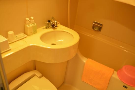Hotel Kuramoto : 卫浴
