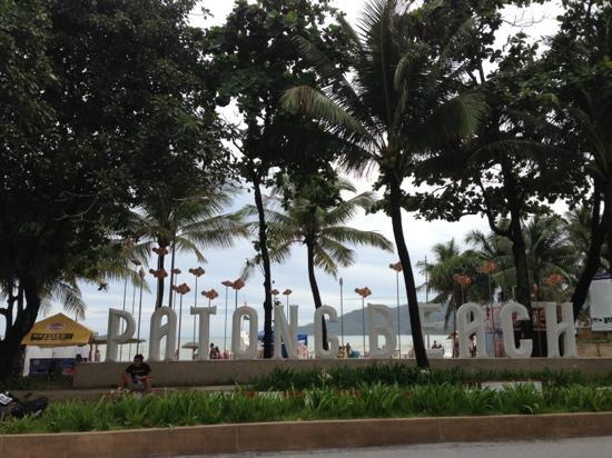 Patong Bay House: 巴东海滩