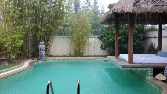 Yalong Bay Villas & Spa: 情侣别墅泳池