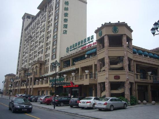 GreenTree Inn Suzhou International Education Zone Shihu Express Hotel: 外立面