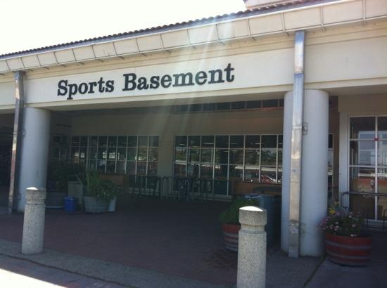 sports basement picture of sports basement outdoors