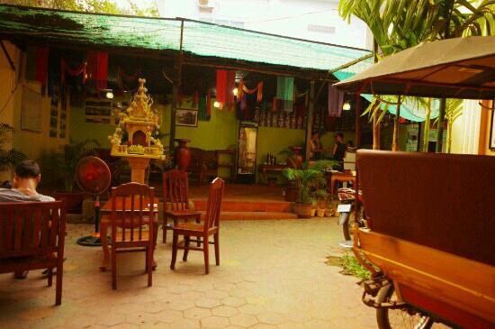 Advisor Angkor Villa: 酒店餐厅