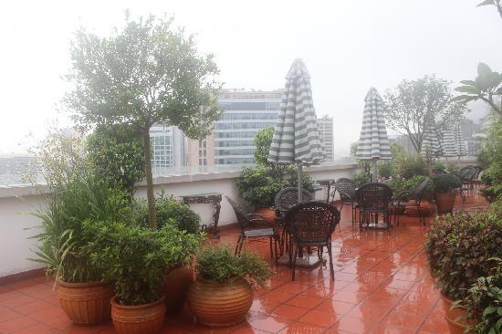 Guia Hotel: 顶楼花园