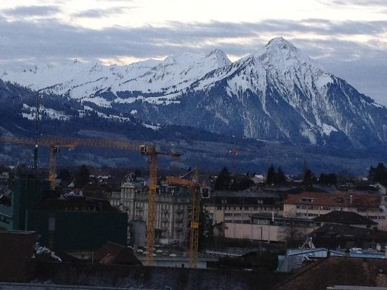 Metropole Hotel Interlaken : 壮丽的客房景观