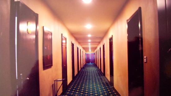 Yingbin Hotel: 客房走廊
