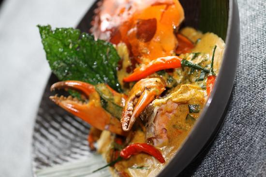 Baan Rim Nam Anantara : 捞叶黄咖喱蟹