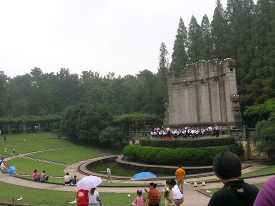Zhongshanling Bandstand: 中山陵音乐台