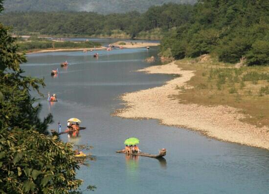 Nanxi River: 楠溪江 竹排漂流
