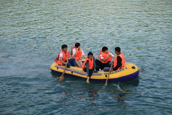 Nanxi River: 楠溪江  漂流