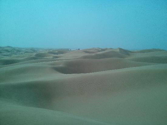Whistling Dune Bay Tourist Scienc Spot: 沙漠