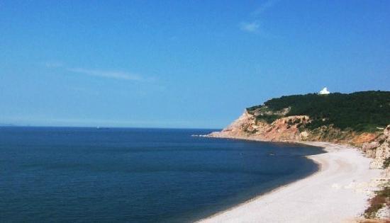 Jiuzhang Cliff : 九丈崖海边的鸥翅湾