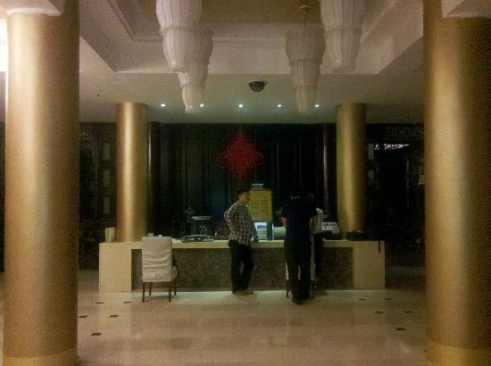 Jingbo Mountain Resort: 客房前台