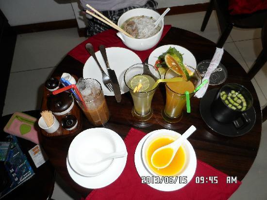 ซินนามอนบูทีคโฮเต็ล ไซง่อน: 丰富的早餐