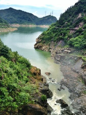 Taizhou Qiongtai Xiangu Scenic Resort: 独特的山谷景观