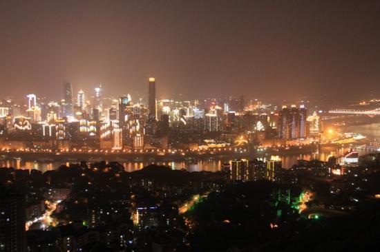 Chongqing South Mountain : 南山夜景
