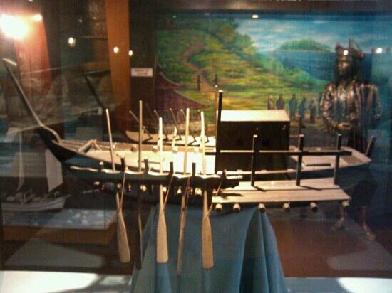 Flora de la Mar Maritime Museum: 模型