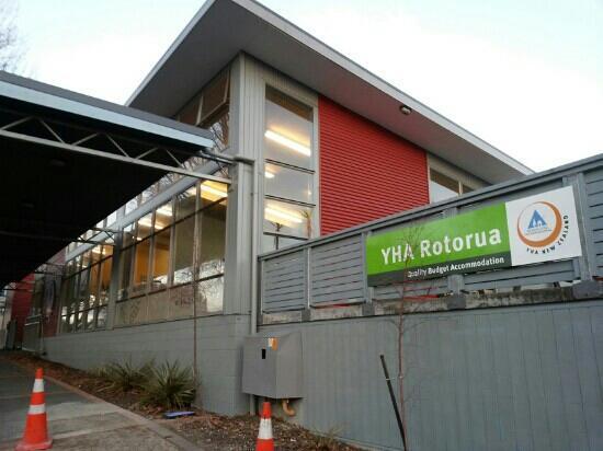 YHA Rotorua: 外观
