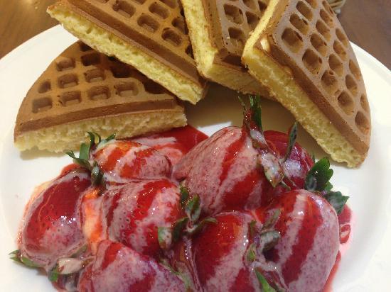 Melange Cafe: 草莓松饼