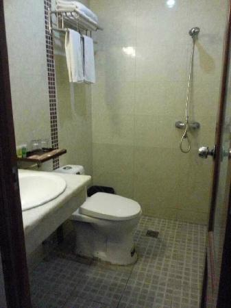 Lefeier Business Hotel: 大小还行,干湿不分的,如果洗澡就里面全湿了
