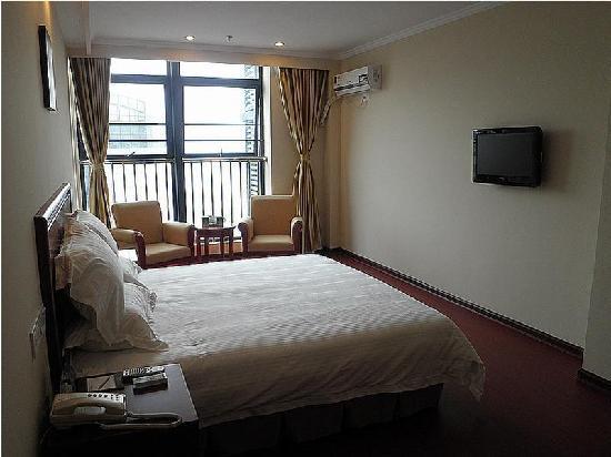 GreenTree Inn Nanjing Jiangning University Town Business Hotel: 客房